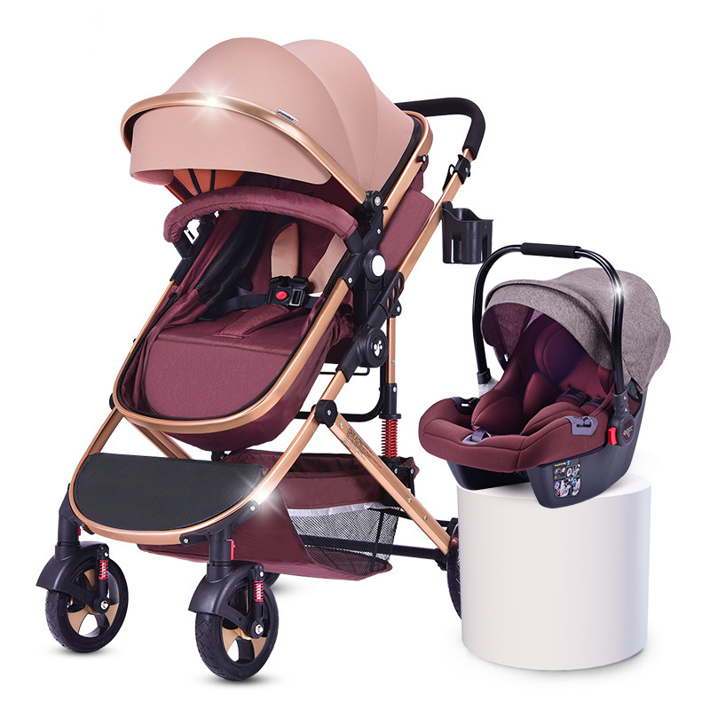 en1888 approved baby stroller / light weight baby pram strollers 3 in 1 / foldable pushchair pram wholesale