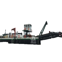 DINGKE River Sand Pumping Machine/Gold Bucket Dredger/Gold Dredge With Best Performance for sale