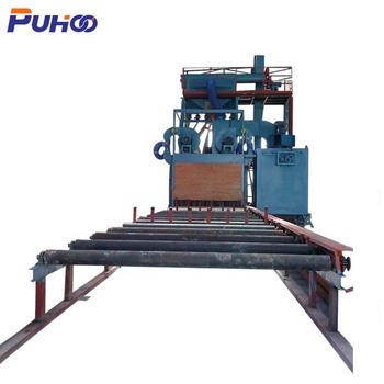 High Quality Q69 shot blasting equipment machinery for steel profiles