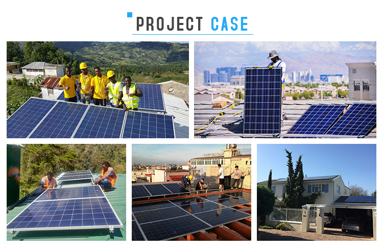 Prezzo di fabbrica 5KW piena potenza del pannello solare/inverter/controller/batteria set completo fuori casa grid sistema solare