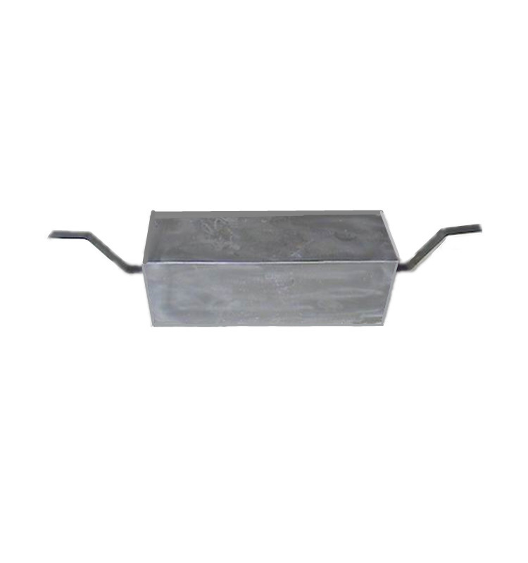 zinc anode for ship hull cathodic protection