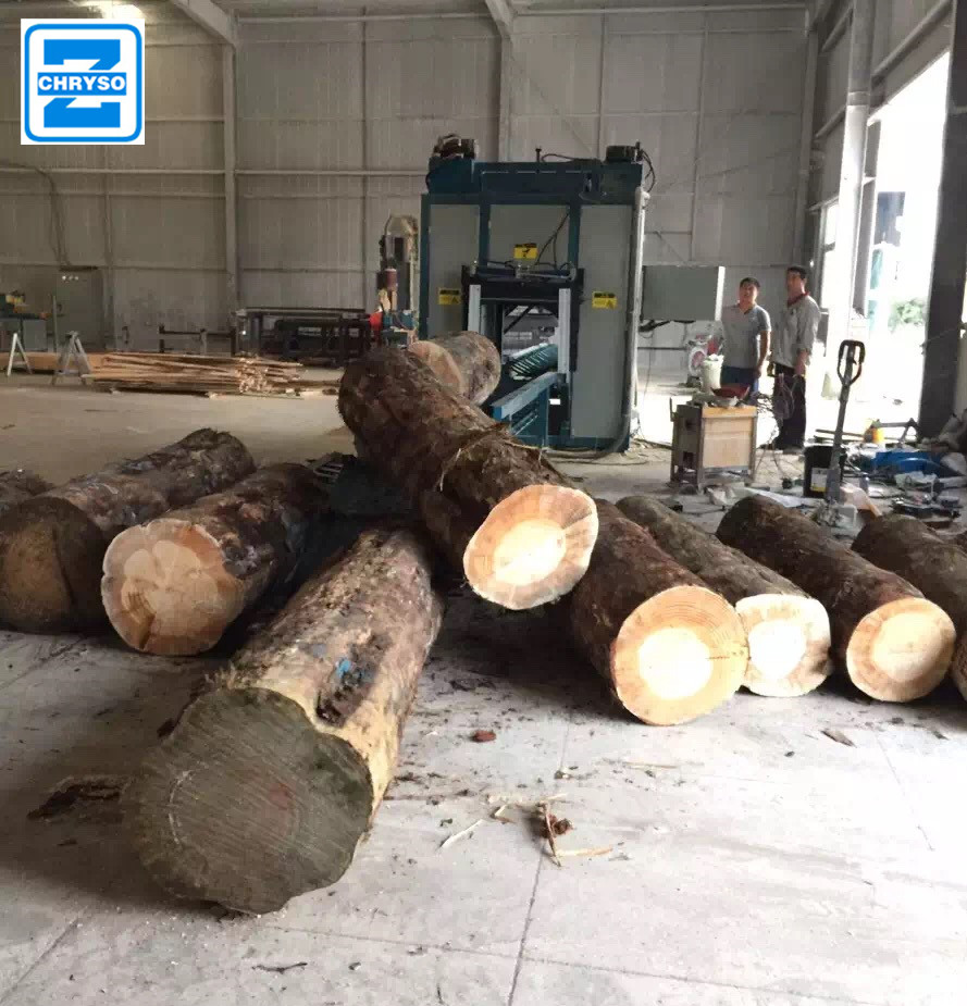 round wood saw machine for wood ripping | wood log slitting machine