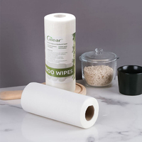 Washable Bamboo pulp Paper Towels for kitchen rolls