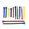 Customized Multiplicity Size and Color Hook and Loop Cable Ties Self locking Nylon Velcroes Cable Tie