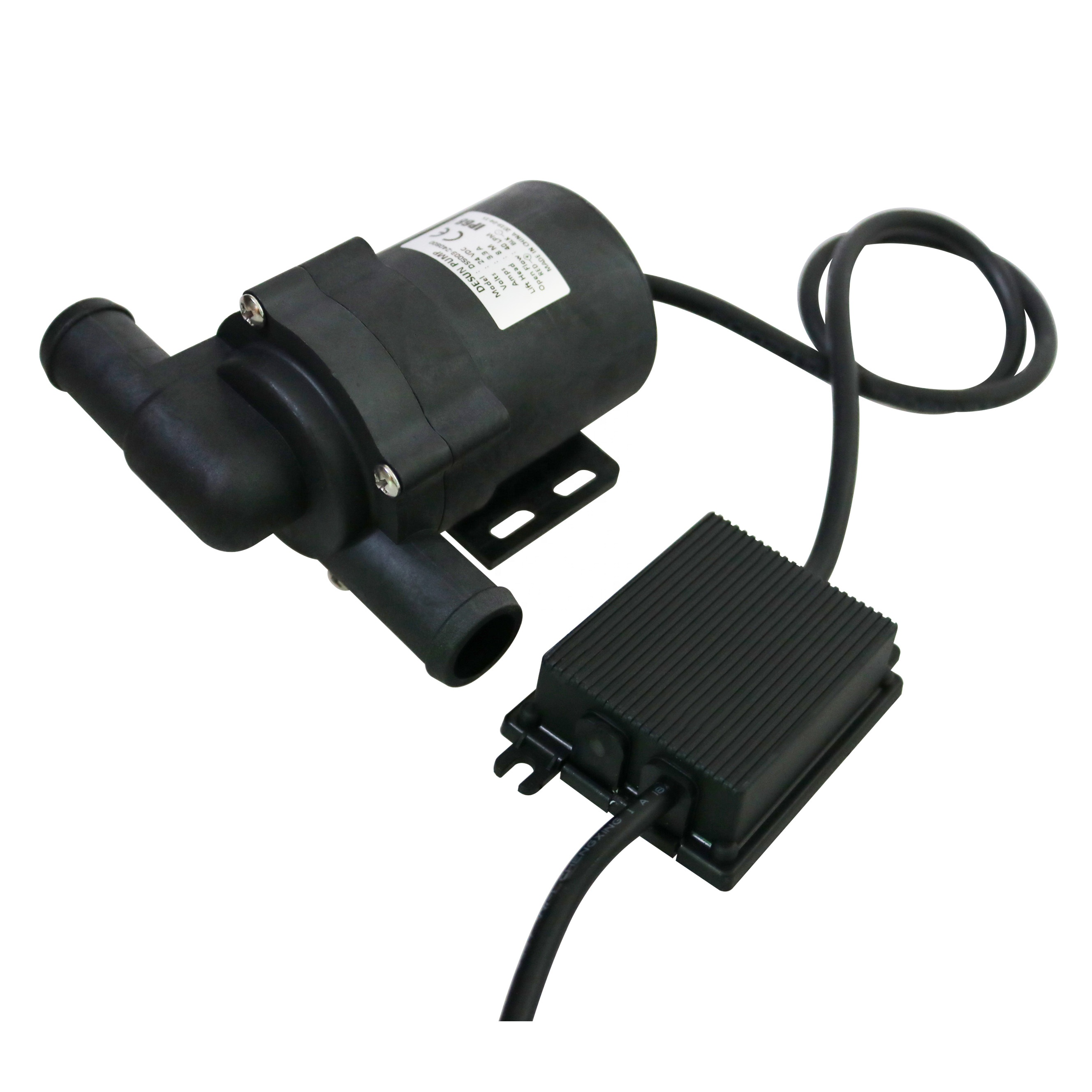 Adjustable Speed Mini Submersible Water Pump 12V DC Brushless Boost Water Pump 40℃ ~100℃