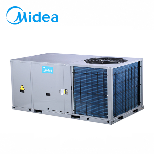 Midea air conditioner system free cooling rooftop package unit air conditioner ahu air handling unit