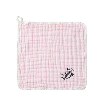 Best quality hooded baby bath microfiber embroidery kids face towel