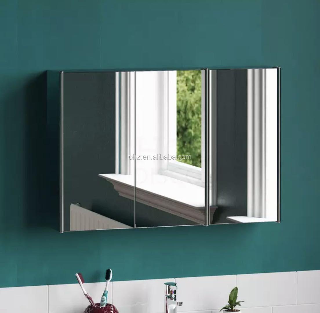 New Design Custom Bathroom Cabinet Stainless Steel Medicine Cabinet Wholesale Bathroom Vanities Products On Tradees Com