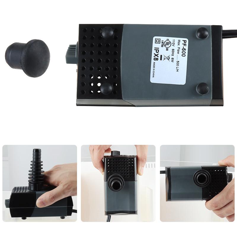 Needle Wheel Protein Skimmer for Marine /Aquarium skimmer/Seawater Aquarium protein skimmer ,Low Noise,  DC Pump