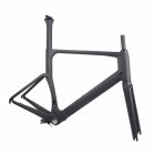 700x25C Cheap Carbon road bike frame Carbon frameset Integrated BB30 Carbon road bicycle frame