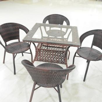 Cheapest Price Outdoor Dinner Table Set Patio Furniture Wicker Dining Tables And Chairs For Sale Buy Meja Makan Dan Kursi Rotan Meja Makan Dan Kursi Square Dining Set Rotan Product On Alibaba Com