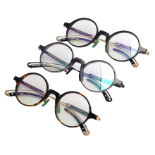 Korean Designed Acetate unisex retro square optical frame eye glasses