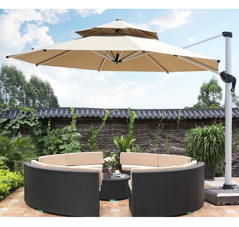 Мебель для патио, уличный полукруглый диван из ротанга с круглым углом, коммерческий секционный диван, садовый плетеный стол, стул