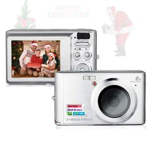 Christmas Gift HD Mini Digital Camera Point and Shoot Digital Video Cameras Travel Camping Gifts