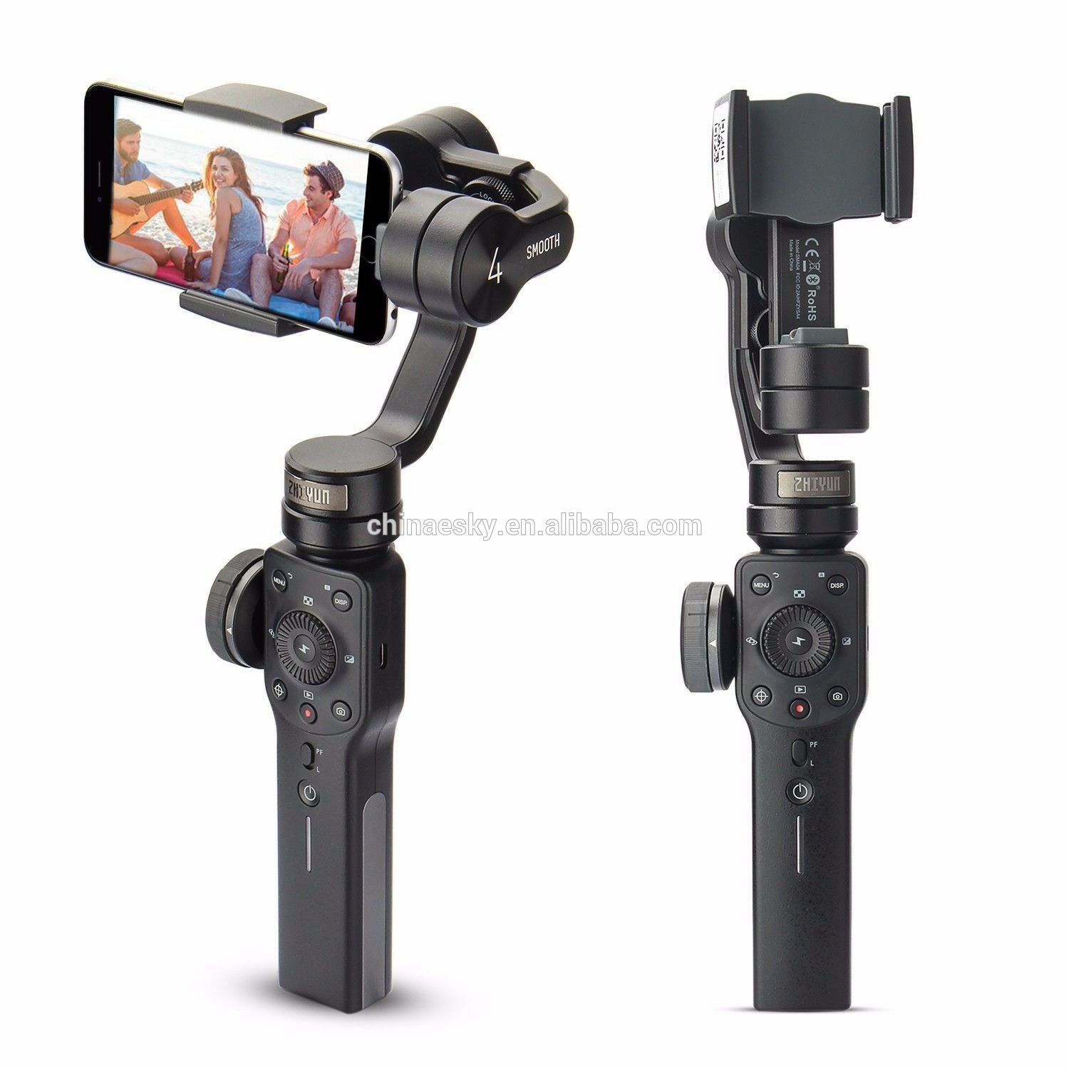 Zhiyun Glad 4 3-Axis Handheld Gimbal Stabilizer W/Focus Pull & Zoom Voor Ios Android Smartphone