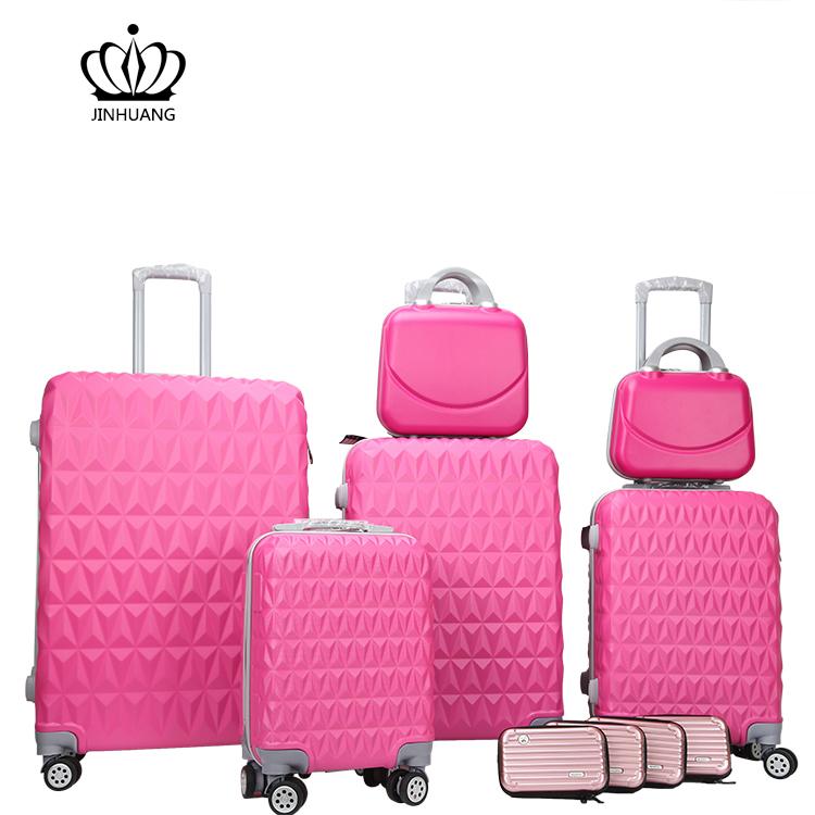 Новый дизайн Розовый багажные наборы BusinessTravel чемодан