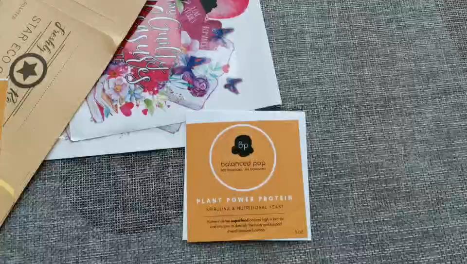 사용자 정의 인쇄 라운드 제품 스티커, 방수 플라스틱 라운드 스티커, 접착제 종이 라벨 스티커