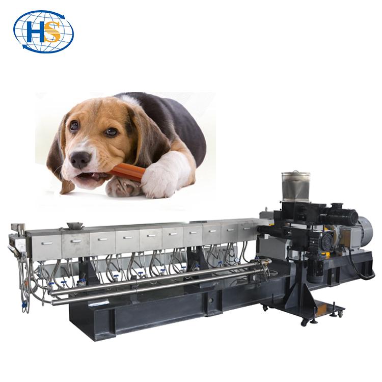 Высокое качество Twin винт экструдер для домашних животных еда