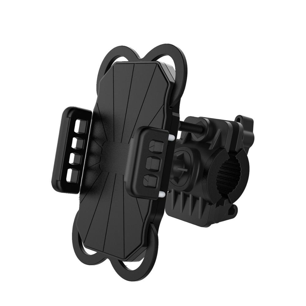 Универсальный 3,5-6,5 дюймового телефона велосипедный держатель силиконовый мягкий руль зажим подставка для велосипеда держатель сотового телефона для велосипедов