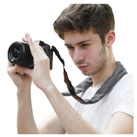 Newest silk material mask coverchief camera bag wrist strap SCARF CAMERA STRAP