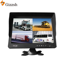 High definition 10,1 zoll rekord funktionen quad-display AHD 1080P Auto LCD monitor für lkw