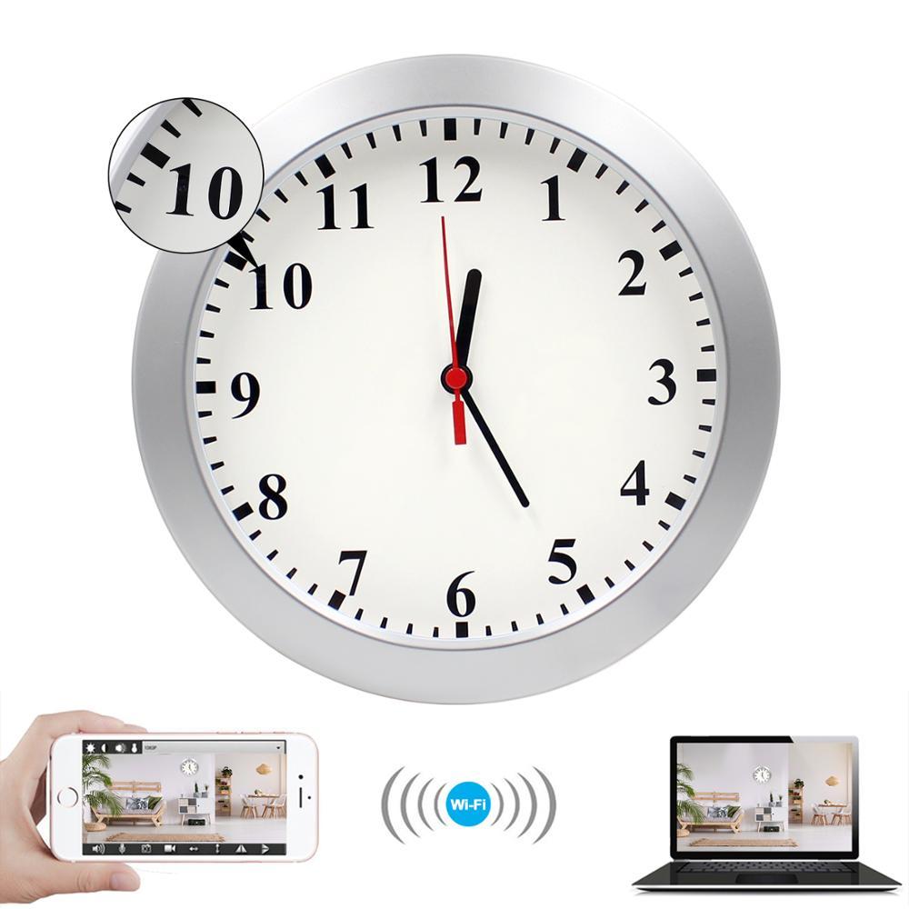 HD DVR Wall Clock 720P Spy Hidden Secret Surveillance Security Video Camera DVR