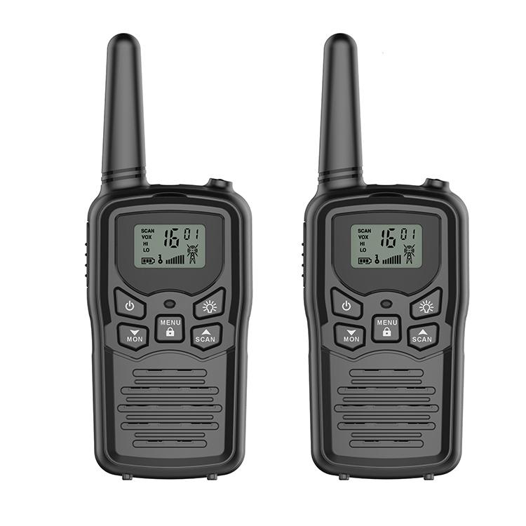 Heißer Verkauf Walkie-Talkie 0,5 W Uhf Lizenz Kostenloser Walkie Talkie 2 weg Radio Besten Bereich 3-5km