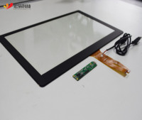 10.1,12.1,13.3,15,15.6,17,18.5,19,21.5 inch Lcd usb multi panel capacitive touch screen