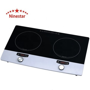 High Quality with CE certification 2 burner Electric Stove Induction Cooker 3100W NS.B - 234 for kitchen