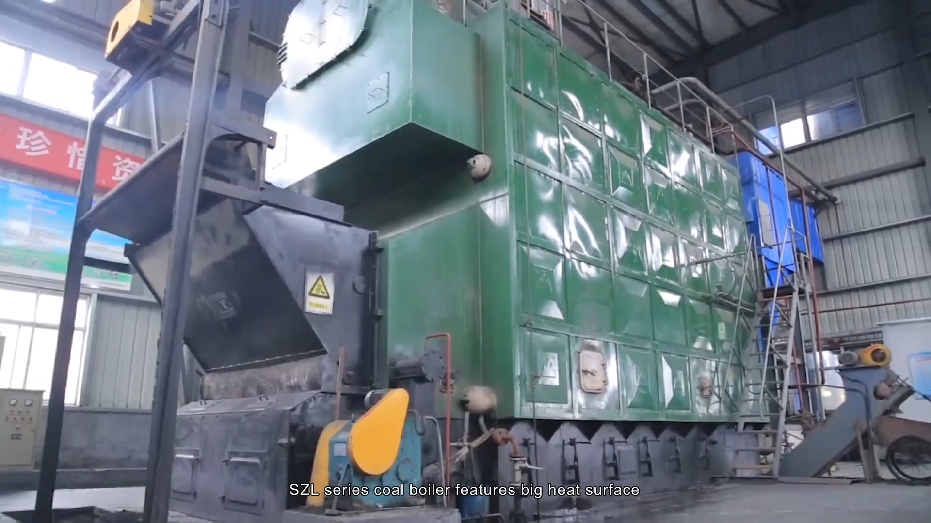 Low Price Ce Approved Brown Coal Fired Steam Power Plant Boiler Production
