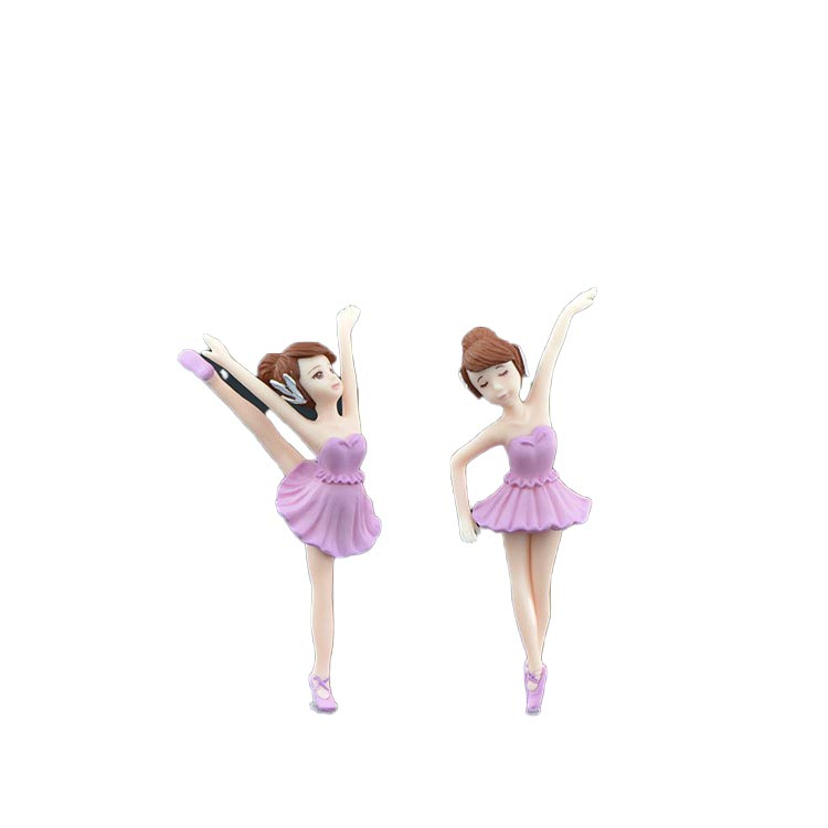 Factory Supply Hand-made craft resin decoration ballet girl figurine