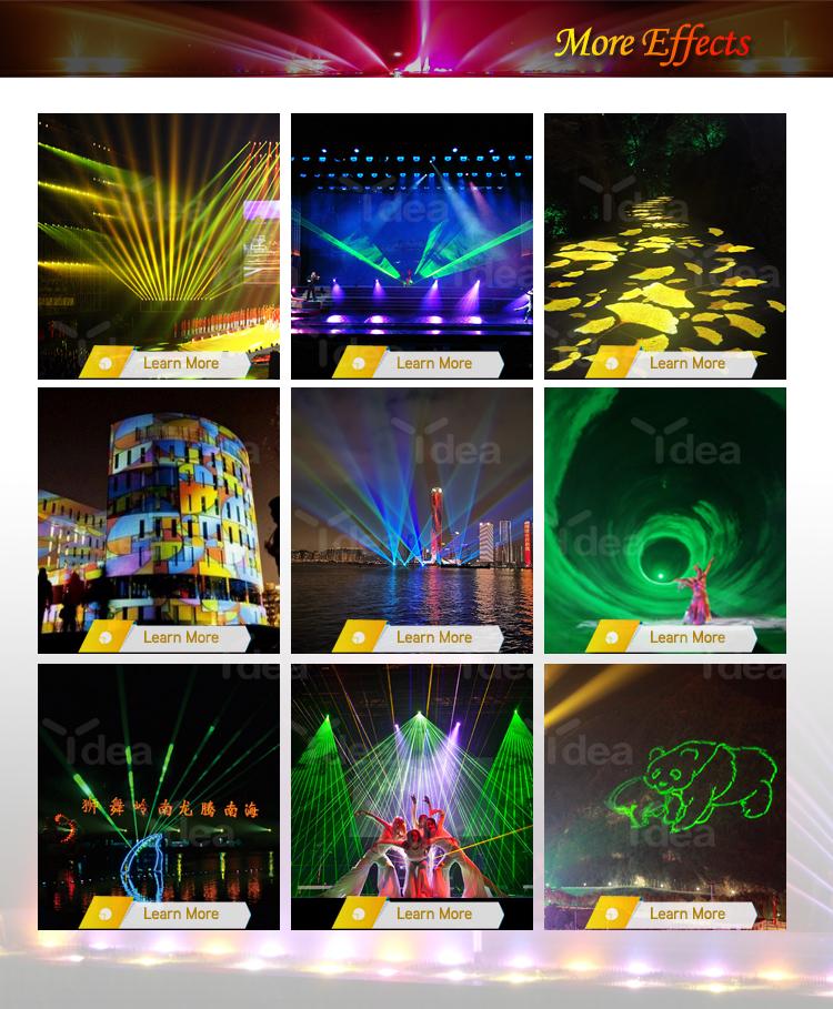 Desain Baru Animasi Laser 3 W Ilda RGB Lampu Laser KTV DJ Lampu Laser Disko