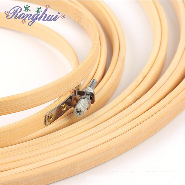 Novos produtos de alta quantidade de bambu bastidor com moldura redonda para brindes promocionais fabricados na china