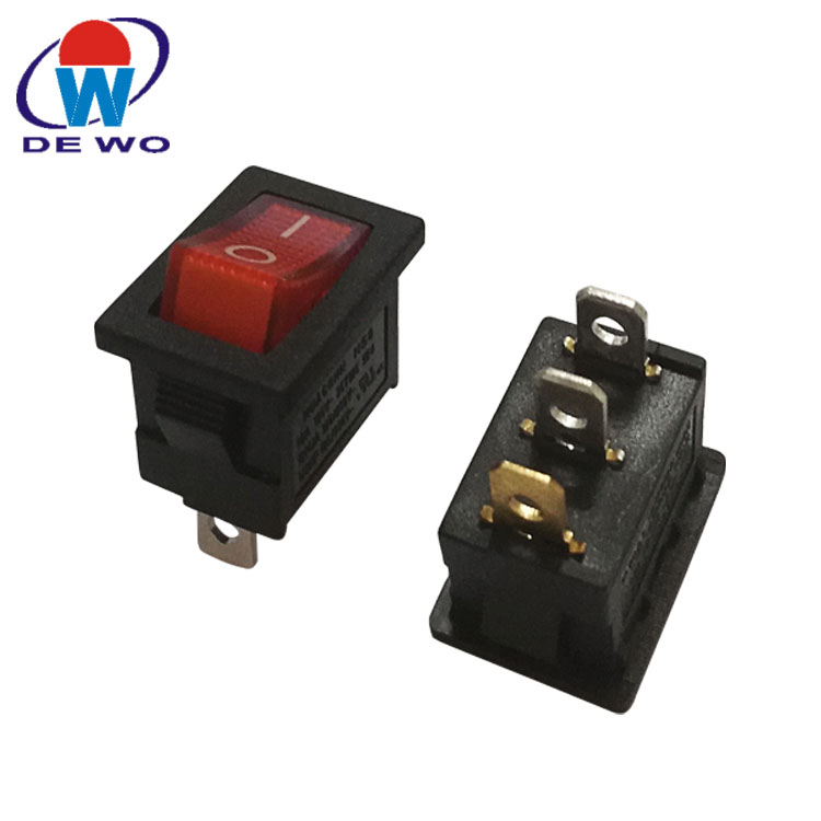 ON//OFF 2 Way//Position Marine Rocker Boat Switch Lighted