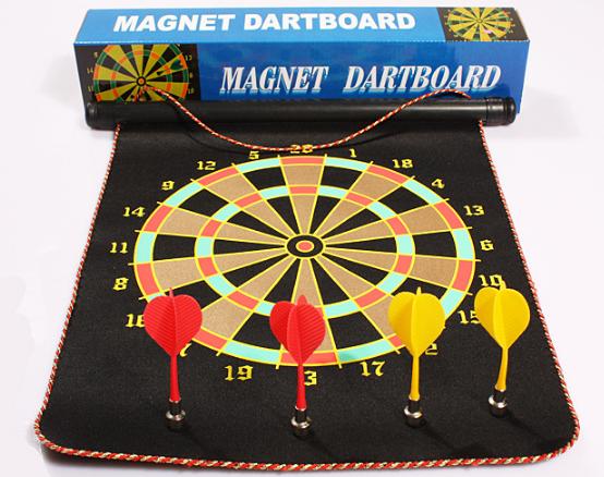 ชุดแม่เหล็ก6ลูกดอกเกมขายร้อนสำหรับเด็กของเล่นเกมDartboradชุดแม่เหล็ก6ลูกดอกเกม