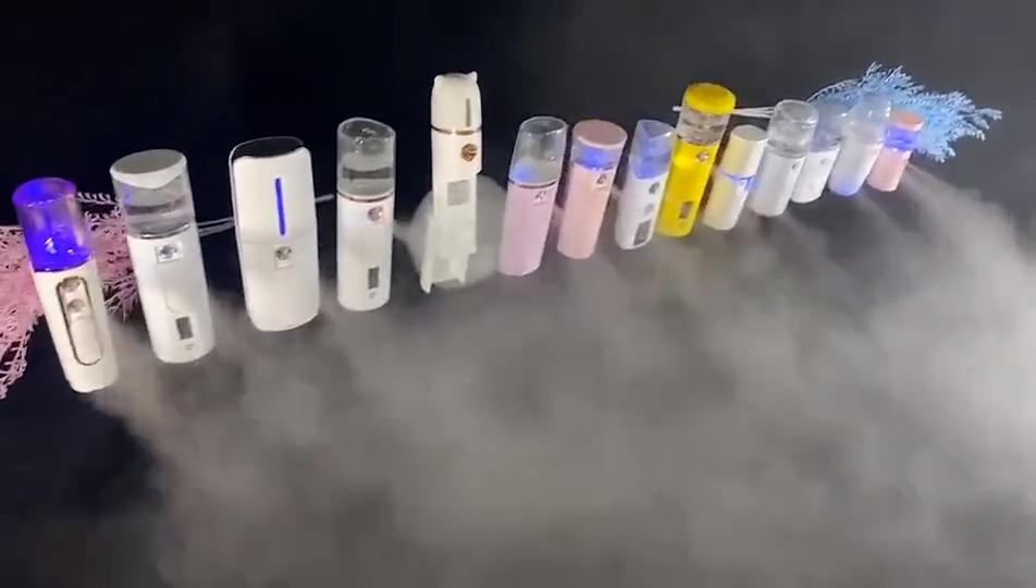 뜨거운 판매 핸디 미스트 페이스 수분 스프레이 24 시간 Nanomist 페이셜 스킨 스팀 케어 나노 안개
