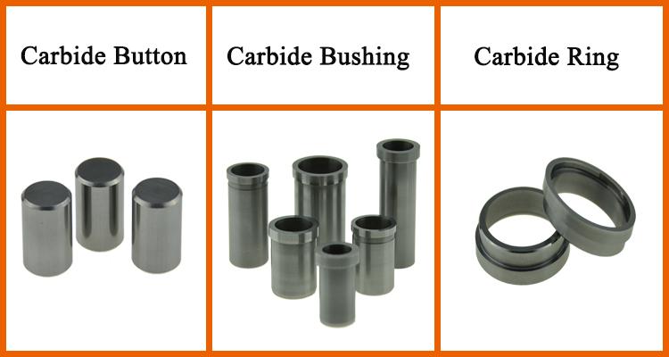 Tungsten Carbide Chủ Đề Nozzle Của PDC Dầu Khoan Bit chữ thập khe răng