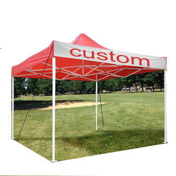 Durable Folding Tent for Trade Show 10 x 10 ft with Your Logo