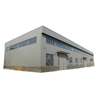 Metal Steel Structure Warehouse Buildings Sheds / Prefabricated Steel Light Steel Structure Warehouse