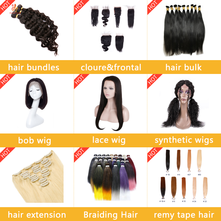 Kualitas Rambut Kepang Panjang Berwarna Alami Kepadatan Tinggi Renda Depan Sintetis Wig untuk WANITA HITAM