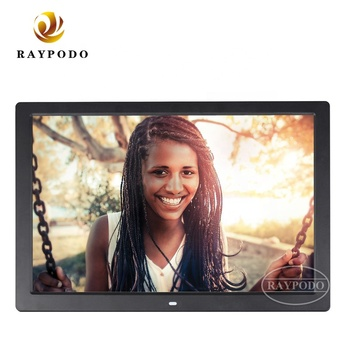 "Raypodo remote control 7"" 8"" 10"" 12"" 13"" 15"" 17 inch digital photo frame with wall mount"