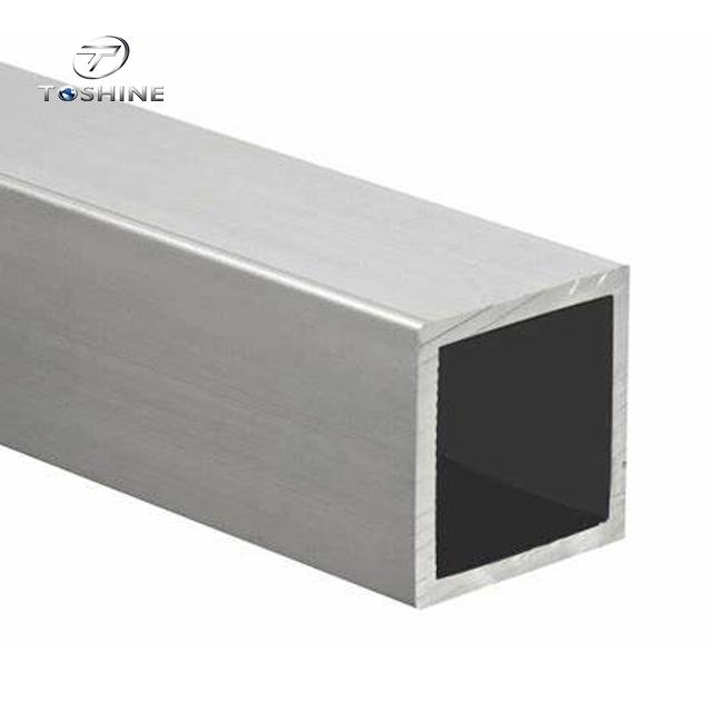 Aluminium Profile Rectangle Tube / Extruded Pipe Aluminium Factory / Aluminium Pipe 6082 Price For Kg