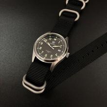 Мужские автоматические часы NH35A STEEL DIVE 1940, пилотные часы, мужские часы из нержавеющей стали, стальные часы C3, светящиеся автоматические часы, ...(Китай)