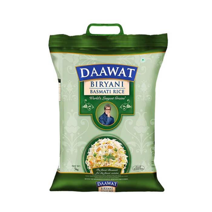 Sac d'emballage de riz basmati en plastique d'impression personnalisée taille pour 1kg 2kg 5kg 10kg sac d'emballage de riz avec poignée