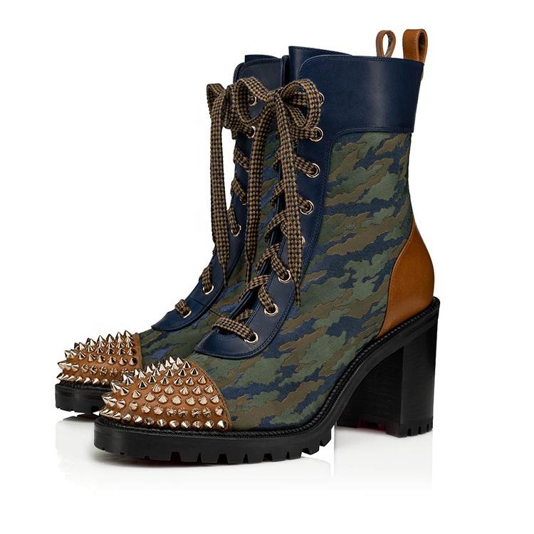 Women autumn new brand safety shoes high heel boot