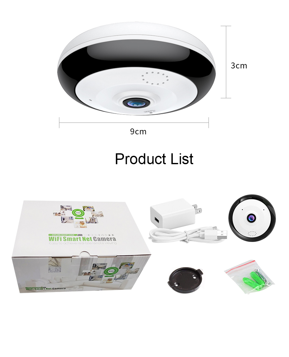 Loosafe high quality smart housing camara safety full hd 1080p ios yi home android webcam monitor with v380 app camera