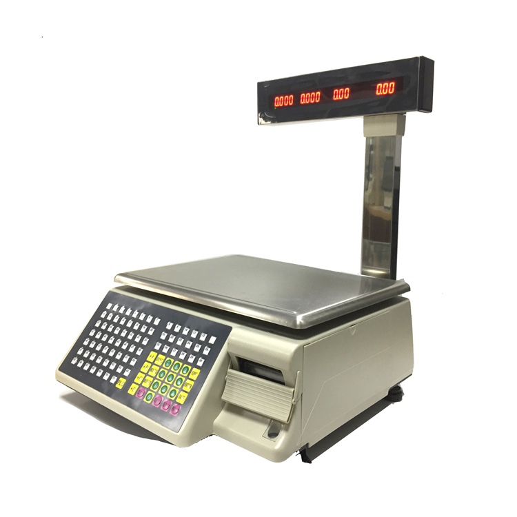 digital <strong>scale</strong> dahua 15kg best sale Retail Barcode Electronic Weighing <strong>scale</strong> with 4000 PLUs data storage TM-15A-D