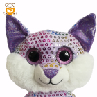 Custom Made Soft Lovely Big Eyes Fox Stuffed Animals Plush Toys