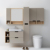 42 inch french teak wall mount hotel avanity liquidation bathroom vanity cabinet hotel