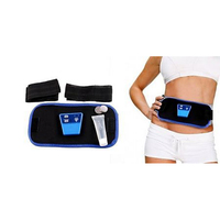 Cheap Belly Fat Weight Loss Beauty Belly Vibro Shape Body Vibration Massage Belt With Heat